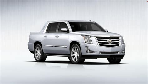 2015 cadillac escalade ext announced gm authority