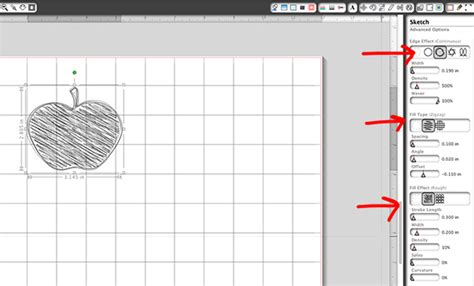 sketchbook text tool creating journal cards with custom shapes and silhouette