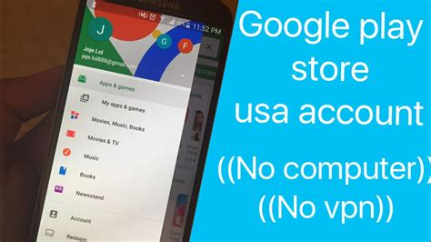 How Change Play Store Account Change Your Play Store Account To Usa No Vpn No
