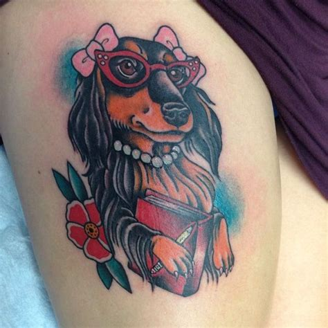 dachshund tattoo designs 17 best ideas about dachshund on puppy