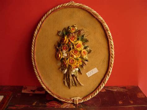 quadro con fiori quadro con fiori in ceramica per la casa e per te