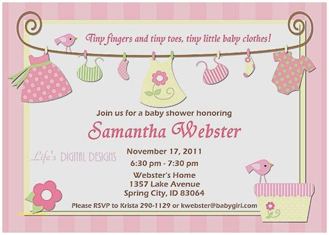 Baby Shower Invitation Templates Word by Baby Shower Invitation Baby Shower Invitations