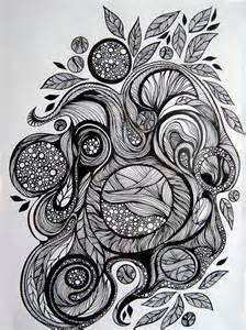 pen and ink doodle doodling is therapy wire moon