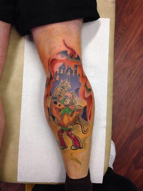 scooby doo tattoos dynamite tattoos studio scooby doo