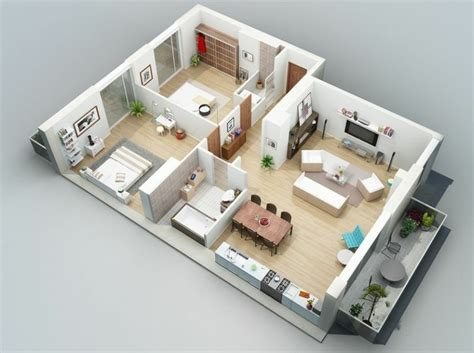 3d apartment design plan maison 3d d appartement 2 pi 232 ces en 60 exemples