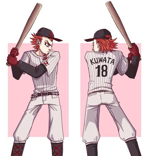 hey bada bada swing shsl baseball player by sein0 on deviantart