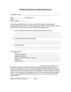 permission to treat form template treatment authorization form in word and pdf formats