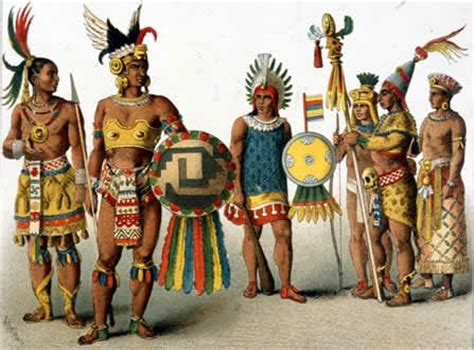 Aztec Wardrobe by Daily Of The Aztecs Historic Costume Inspiration