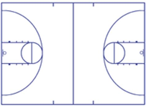 basketball floor template basketball court diagrams and templates free printable