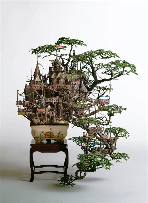 coolest tree houses picture of the day the coolest bonsai treehouse ever
