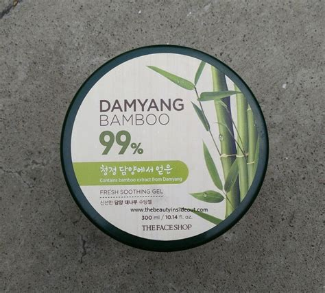 Harga The Shop Damyang Bamboo the shop damyang bamboo fresh soothing gel review