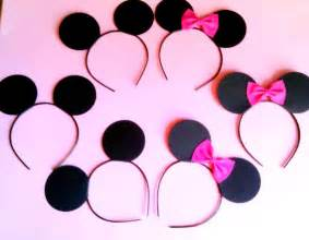 Mickey Ears Favors by Minnie Mouse Favors Bow Tastic How To Throw A