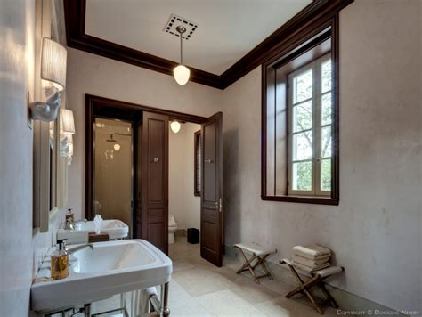 pool house with bathroom preston hollow pool house bathroom photograph 21099