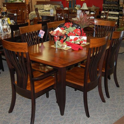 black brown table and chairs 42 quot x 66 quot dining table with 2 18 quot leaves shown in
