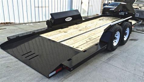 plans for drop deck motorcycle drop deck tilt trailer kemco 80 quot x 20 14k gvwr no