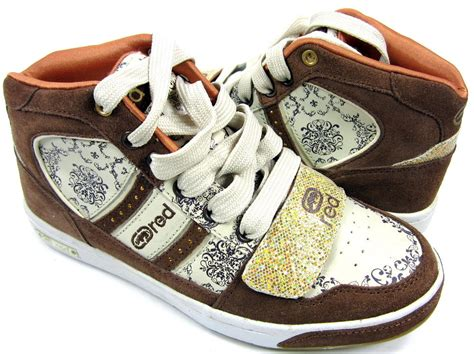 New Marc Gliter Brown by marc ecko shoes gramercy brown white glitter sneakers womens 5 5 eur 35 5 ebay