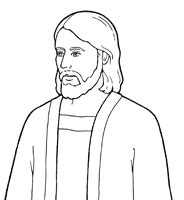 lds coloring pages faith in jesus christ behold your little ones nursery manual lesson 25 i