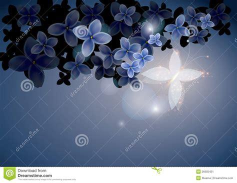 flores azules claras mariposa imagenes de archivo imagen 2050474 mariposa de hadas en flores azules imagen de archivo