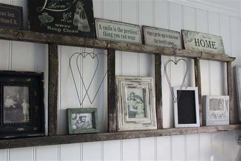 ladder home decor dishfunctional designs old ladders repurposed as home decor