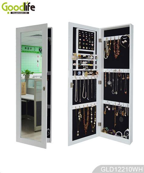 over the door full length mirror jewelry armoire over the door wooden jewelry cabinet with full length mirror