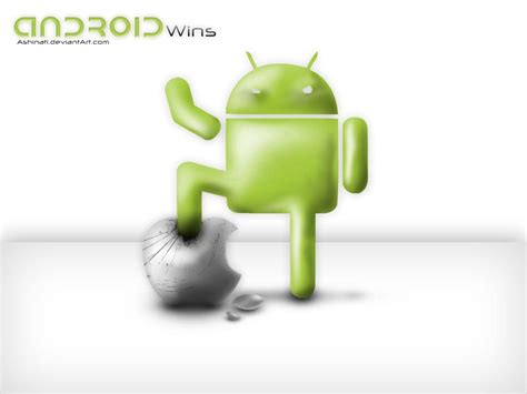 apple android apple vs android wallpapers wallpaper cave