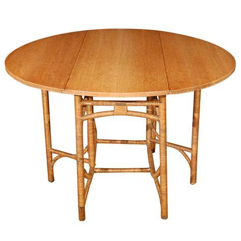 heywood wakefield dropleaf dining table