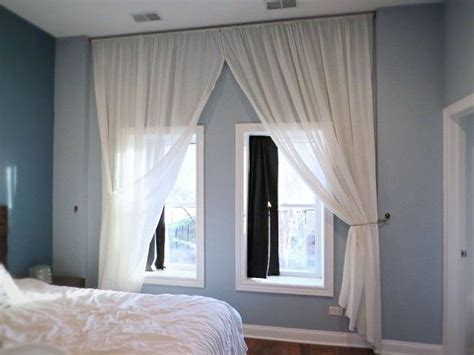 Curtains For Floor To Ceiling Windows Decor Let S Make A Floor To Ceiling Curtain Hometalk