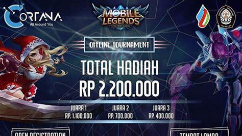 mobile legend offline turnamen mobile legends cortana offline