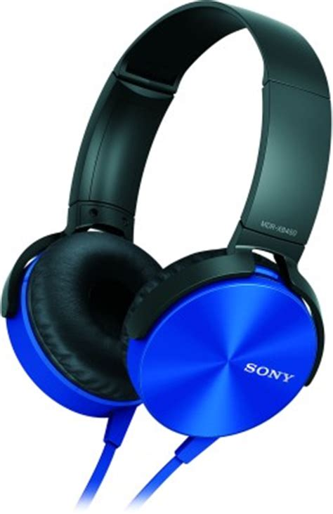 Murah Headphone Sony Mdr Xb 450 Xb450 Xb 450 Bass 1 sony mdr xb450 on the ear headphone blue available at flipkart for rs 1599