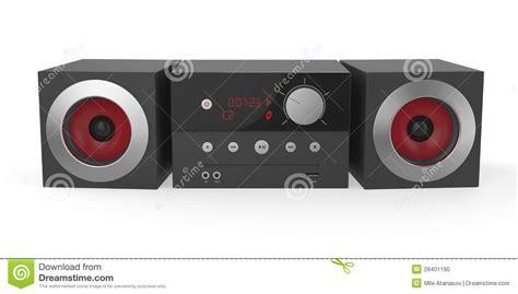 Miniatur Sound System 1 mini audio system stock illustration illustration of