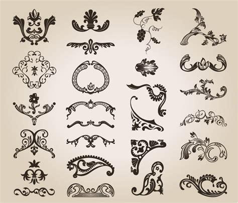 vintage pattern name free vintage design floral pattern free vector graphics