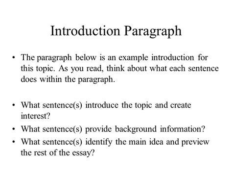 introduction conclusion paragraphs ppt video online
