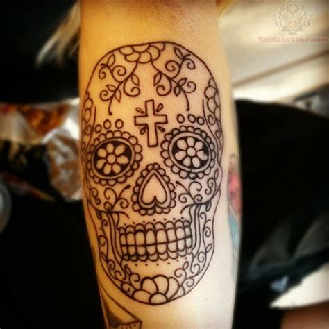sugar skulls tattoos meaning 40 sugar skull meaning designs
