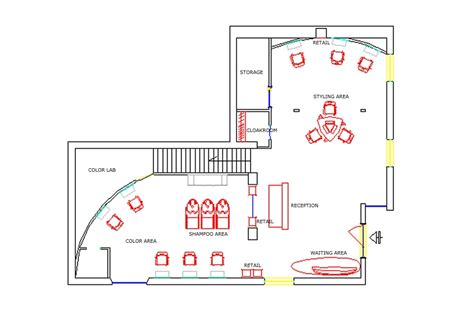 hair salon floor plans download salon blueprint maker joy studio design gallery best