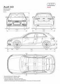 Audi Dimensions My Ardit Car Audi A3 2013