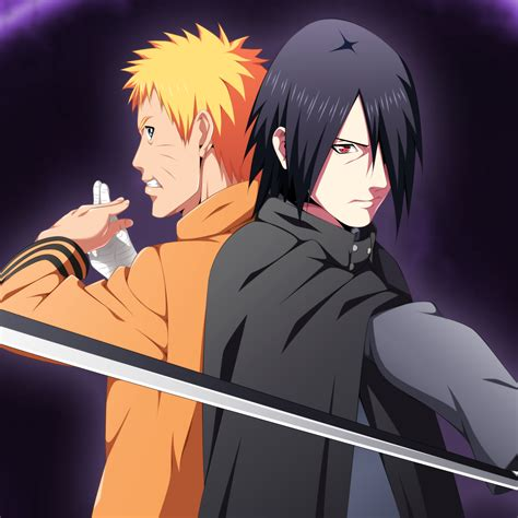 wallpaper dinding naruto mengunduh naruto vs sasuke baruto 2048 x 2048 wallpapers