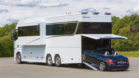 luxurious 1 million motorhome sleeps your family and your