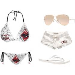 Fashion look from april 2011 featuring bikini swimsuit swimsuits