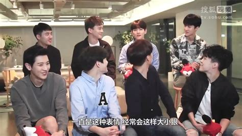 exo interview engsub 170919 exo sohu interview baekhyun imitates members