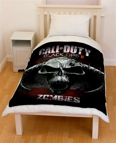 call of duty bedding set call of duty black ops zombies bedding throw fleece