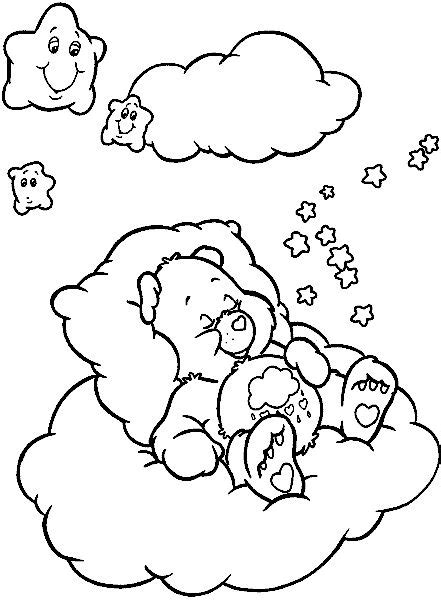 coloring pages of grumpy bear 46 best images about care bear grumpy bear 4 on