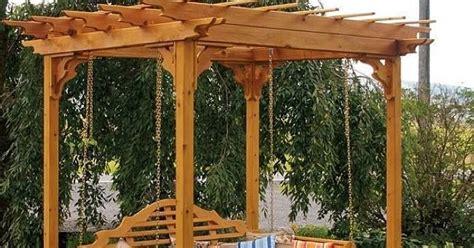 cedar pergola swing bed amazing creativity cedar pergola swing bed stand an
