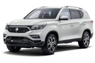 new ssangyong rexton suv mahindra xuv700 surfaced