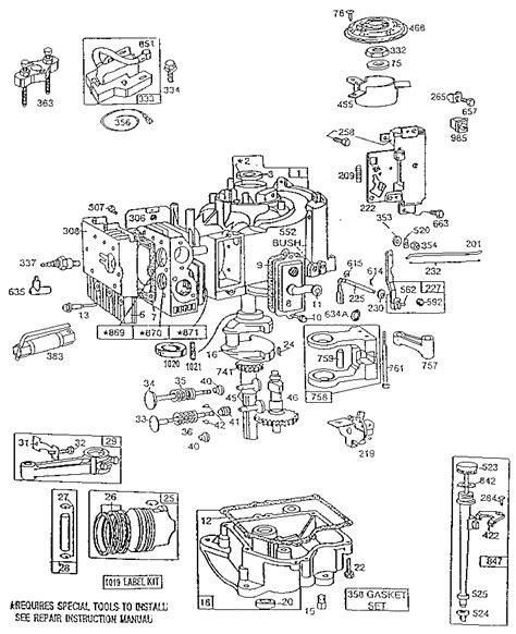 10 hp briggs and stratton carburetor diagram 10 hp briggs carburetor diagram wiring schematic wiring