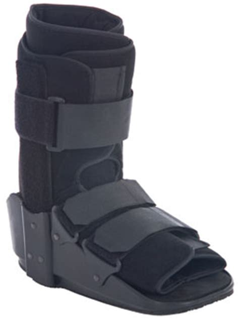 discount aluminum walker fracture boot