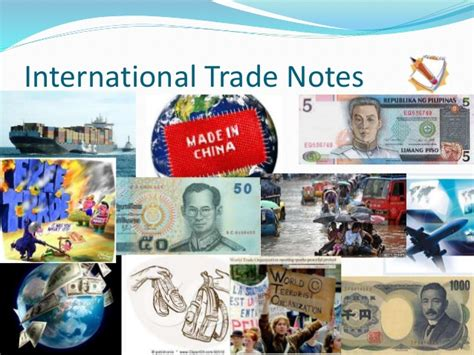 International Trade Notes For Mba by International Trade Notes