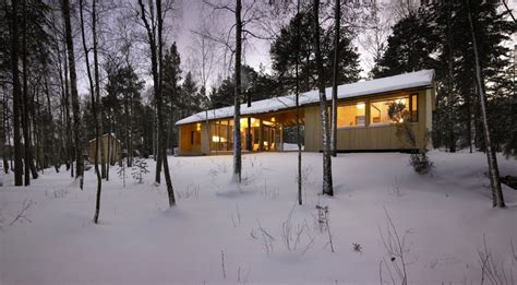 House Design Modern Dog Trot by A Dogtrot Cabin In Finland K2s Architects Small House