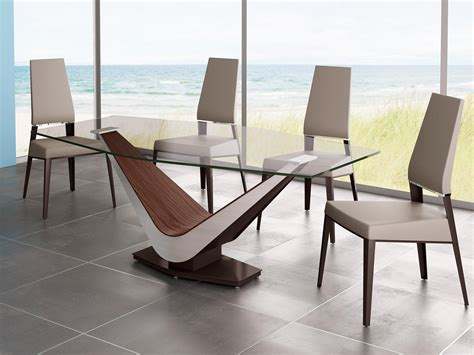 modern glass dining room sets modern glass dining room sets trellischicago