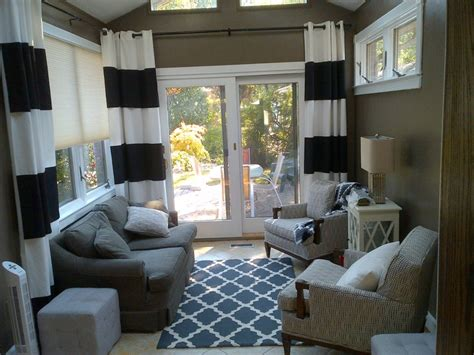 sunroom curtain ideas sunroom curtain ideas curtaining treatments pinterest