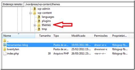 criar layout no wordpress como fazer backup do layout e dos posts do seu blog no
